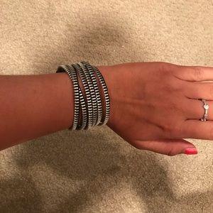 cute zipper bracelet